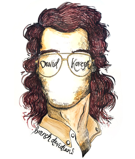 David - Watercolour and ink