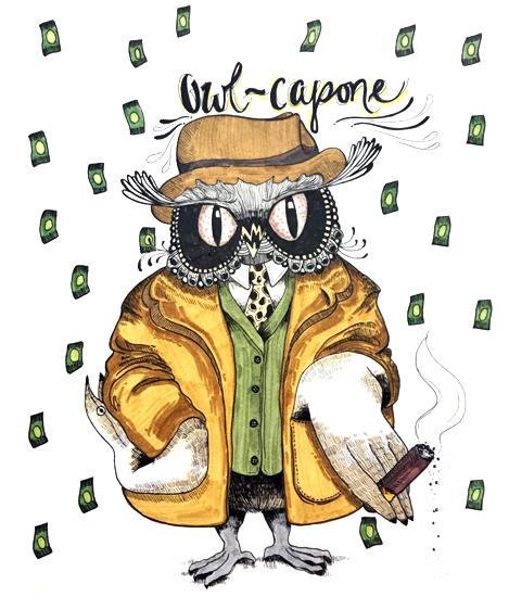 Owl-Capone -