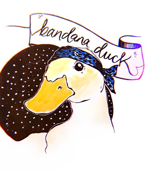 Bandana Duck -