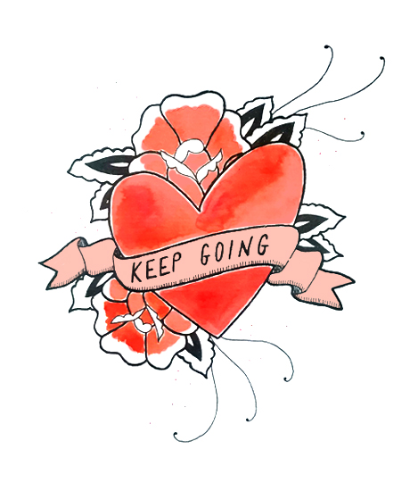 Keep Going -