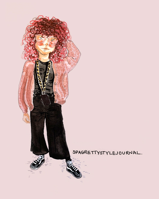 Pink Hair -